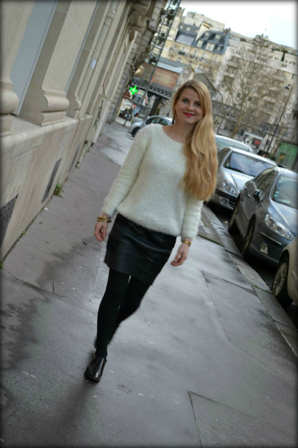 white-mohair-sweat-cuir-dentelle-jupe-leather-lace-skirt